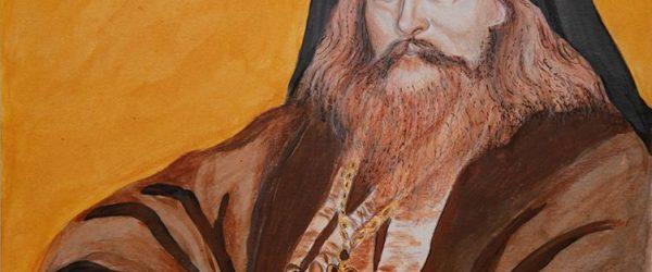 Portrait of St Ignatius (Brianchaninov) by Elena Borowski