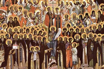 Icon of All Saints of Russia