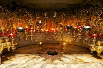The place of Chrsit's Nativity in Bethlehem