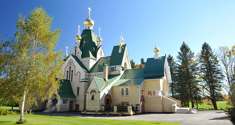 Holy Trinity Monastery Cathedral, Jordanville, New York