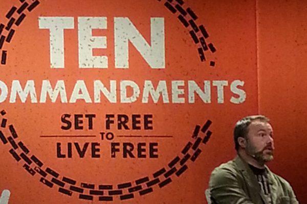 Mark Driscoll preaching on the Ten Commandments at Mars Hill Church