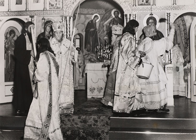 Consecration of the Cathedral at Holy Trinity Monastery, 1950