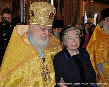 Photo of Protopresbyter Valery Lukianov and Matushka Irina